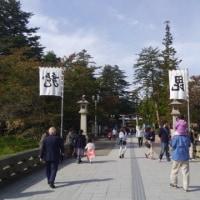 行政調査最終日・米沢市立上杉博物館と上杉神社へ。