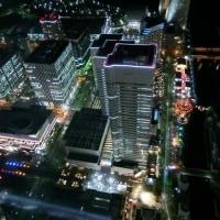 横浜ランドマークタワー69階から見る夜景2