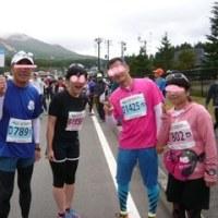 磐梯山の紅葉!冬の訪れ!会津路を走る。猪苗代湖ハーフマラソン2016
