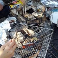 炭火で牡蠣のオフ会