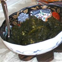 北インド料理 ほうれん草とカッテージチーズのパニール