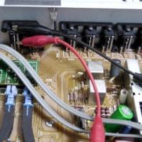 例の交通安全ポスター (;^ω^) とHCA-8000 出力基板修理