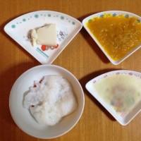 今日の離乳食(2回目)【77日目】