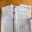 衿、細編み仕上げ