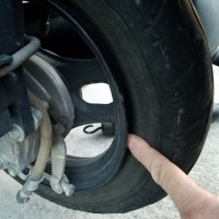 前橋市でホンダ・ジョルノの出張タイヤ交換