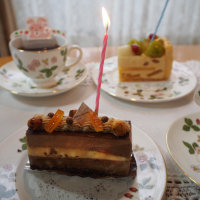 お誕生日のサプライズ