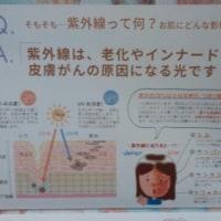 紫外線対策(^^♪