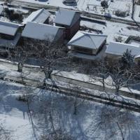 雪景色の138タワー展望台