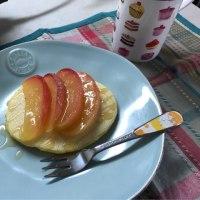 りんごのパンケーキのはなし