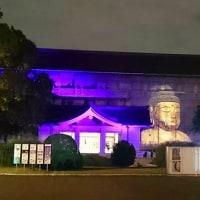 東京国立博物館で夜