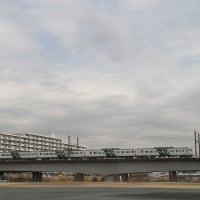 多摩川橋梁から