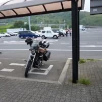 アキカンという名前を付けたバイク・・・。