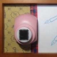 クラフトパンチ・L/スクラップホリック【切手】(生け文具1127)