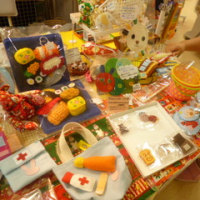 本日の店頭販売:フェルトのおもちゃ屋さん『maruma』さん