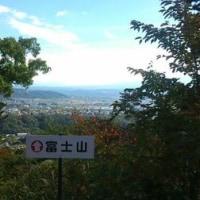 富士山が見える城