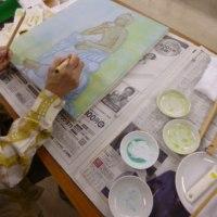 岩部先生の基礎から学べる日本画と水彩画講座と特別講座のおしらせ