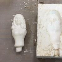 石膏原型を使った型作り(3)グリンダ