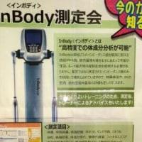 In Body 測定会