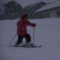 奥伊吹スキー場へ