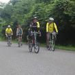 彦根サイクリングクラブ7月平日行事・・・旧北陸本線跡をめぐる輪行の旅。
