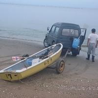 2016手漕ぎボートの釣り(4漕ぎ目)