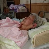 93才の介護ダイアリー、彼女は12/8日、胆管チューブ交換、内視鏡オペで入院、12日に退院、
