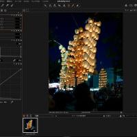 ソニー用RAW現像ソフトを試してみる(その3)ー明るさとコントラストの調整ー