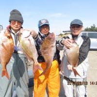 3月12・13日の釣果と写真
