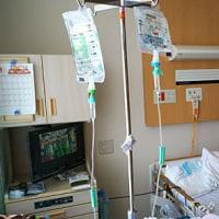 緊急入院1週間、やっと退院