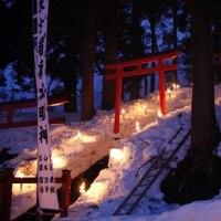 東方稲荷春季例祭「大百八灯」