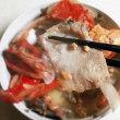 自作 金目鯛のアラ煮