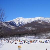 嬬恋・バラギ湖のわかさぎつり 宿泊募集