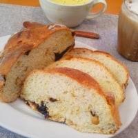 プルーンとカシューナッツの田舎パン