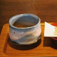 花びら餅とお抹茶