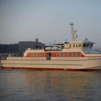 定期船「とびしま」模様替え