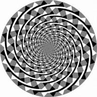 フレーザーの渦巻き錯視