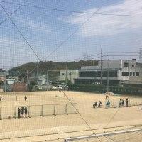 女子テニス部 練習試合