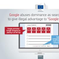 EU、独禁法違反でGoogleに過去最高額の罰金3000億円超。