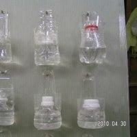 ペットボトル花器