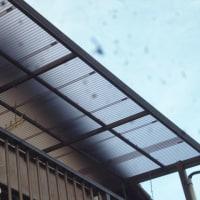 2階ベランダの屋根補修