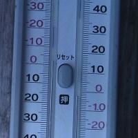 平成29年2月19日・今朝の東祖谷-4.2℃