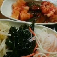 安定の韓国料理、桃谷「福一」。