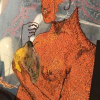 ビーズ刺繍&アリワーク、、絵画刺繍