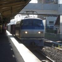EF66-110号機@吹上駅