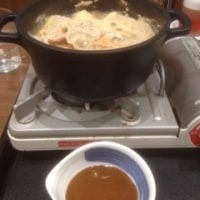風邪だけどカレー鍋を食べた