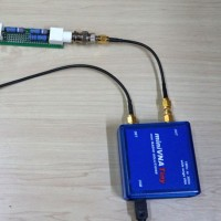 通過型アッテネータの伝達特性を測る