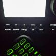 IC7100 はボタンの文字が光る