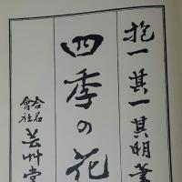 小野なな nanaono 7  昭和51年 四季の花 工芸美術本