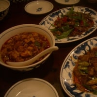 陳麻婆豆腐でランチ