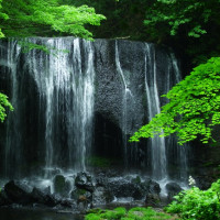 6月25日(日)急遽、「達沢の不動滝」見てきました。